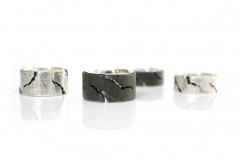 Material: Eisen / Silber.