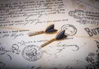 Ferrum Eisenblatt-Ohrringe