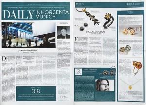 Steffen Lang in der Inhorgenta Sally News Januar 2015